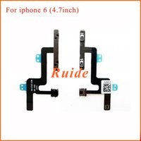 Wholesale Volume Key Flex Cable Ribbon Repair Replacement For iPhone plus