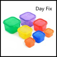 Wholesale High Quality Fix Day Workout Food Large capacity Container Plastic Meal Box Energy Container Various colors available DHl Free