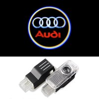 audi tt lights - Car Door LED Logo Projector Ghost Shadow Lights For AUDI A3 A4 A5 A6 A7 A8 R8 Q5 Q7 TT S Line