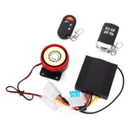 Wholesale Hot selling Professional Waterproof V remote control Anti theft Motorcycle Security Remote Start Driving Vibration Alarm System