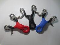 Wholesale super powerful steel slingshots catapult duck caza powerful slingshot tirachinas caza with slingshot rubber band caza slingshot hunting
