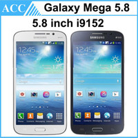 Cheap Refurbished Original Samsung Galaxy Mega 5.8 i9152 Dual SIM 5.8 inch Dual Core 1.5GB RAM 8GB ROM 8MP Mobile Phone With Original Battery 5pcs