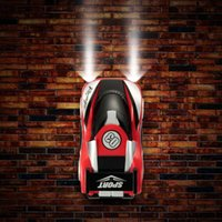 Wholesale Super Climber Rc Car - Wholesale-Super Wall Climbing Plastic RC Car Remote Control Climber Ceiling Toys That Drives With Zero Gravity Styling RTR