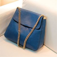 Wholesale Korean Stlye Envelope Bag Fashion Big Capacity Women Bag BAOBAO Shoulder Handbag PU Leather Bag free gift