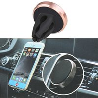additions kits - The new magnetic car seat car outlet Mount Kit for Samsung S6 IPhone6S6 addition Meizu millet Huawei Universal cell phone holder