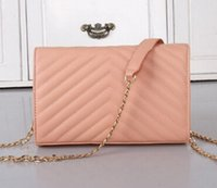 Wholesale Women shoulder bags handbags women famous brands designer bag ladies clutch purses and handbags vintage flap bag envelope chain bag bolsa