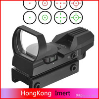 Wholesale New Holographic Reticle Red Green Dot Tactical Reflex Sighting Scopes with Mount for Gun mm T15