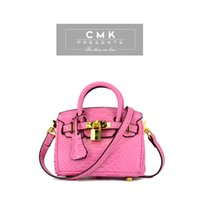 animal candies - CMK KB150 Micro Size cm Padlock Crocdile Grain Kids Crossbody Bag for Girls with Strap Princess Handbag Candy Colors Children Bag