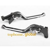 Wholesale CNC Motorcycles Brake Clutch Levers Regular size Mixed Black Silver Color For Suzuki VL INTRUDER