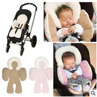 Wholesale Waterproof baby stroller cushion baby car seat accessories head support belt shoulder sided protective cover Neck Protection pad