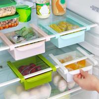 Wholesale Refrigerator Fresh Spacer Layer Multi purpose Storage Rack Kitchen Supplies Twitch Type Glove Box