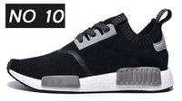 athletic spikes - Famous Original NMD Runner Primeknit White BLack Red Grey Blue Womens Mens Sports Running Athletic Sneakers Shoes Size