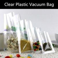 Precio de Bolsas de plástico para alimentos-100pcs / lot el bolso plástico sellado calor del vacío del bolso plástico 160micron Airless humedad-prueba Bag / el bolso del envío del almacenaje de la carne