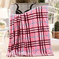 adult baby furniture - Red pastoral plaid style Retro and Nostalgic Old Furniture Printed Children Home x230cm baby travel blanket
