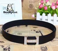 Wholesale new smooth belt buckle belt famous designer brand high quality famous brand belts
