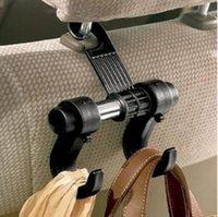 Wholesale Car Seat hooks Double Hooks Shopping Bag Organizer Holder Plastic Hanger QW