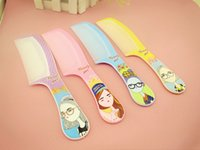 beauty salon prints - Home Color Comb Cheap Plastic Printing Colorful Cartoon Fashion Beauty Salon Massage Comb
