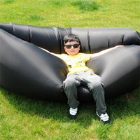 Wholesale original lamzac inflatable Air sleeping hangout bag DIY Air Bed Inflatable Lounger Lay s Bag Inflatable Sleeping Bag