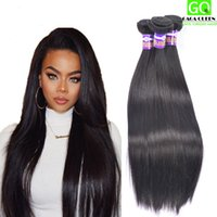 malaysian hair - Cheap Hair Malaysian Virgin Hair Straight Mink Brazilian Hair Weave a Grade Peruvian Straight Hair Extensions Indian Remy Human Hair Bundle