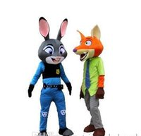 Wholesale 2016 New style Hot Sale High Quality Wild Animals City for Police Judy Rabbit Cartoon Mascot