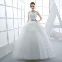 jupe mariée minimaliste 2016 nouvelle robe de mariée taille soignée coréenne fronde Princesse Halter mince