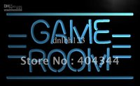 advertising tv commercials - LB338 TM GAME ROOM Displays Toys TV Neon Light Sign Advertising