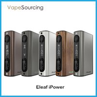 battery match - Eleaf iPower Mod W mah Battery TC VW Matching Melo Atomizer VS iStick Power Nano Mod vape mod Authentic