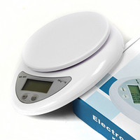 Wholesale 2016 Popular New g g kg Food Diet Postal Kitchen Digital Scale scales balance weight weighting LED electronic
