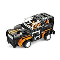 auto truck toy - 2016 Kids Toys RC Trucks Anime Robot Transformer Auto Bricks Union Building Blocks Sets Children toys For Gift Items One Piece