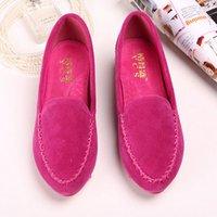 ballerina flats for women - Plus Size New Brand Designer Shoes Woman Flats Summer Gommini Ballerina Shoe For Women Ballets Loafers Femme Chaussures