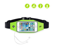Wholesale Running Flip Fitness Workout Belt Money Belt Waist Pack for Jogging Gym Workouts Walking Hiking Outdoor travel For Iphone6 plus or Samsung