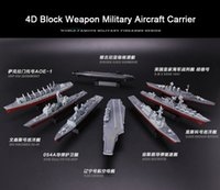 Wholesale Winstartoy D Block Weapon Military Submarine Aircraft Carrier for Action Figure Sence DIY