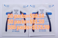 Wholesale 10 packs New Dental Material Rectangular Arch Wire Orthodontic Super Elastic Niti Upper lower Oval Form pack