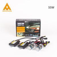 Wholesale Xenon HID Kit Car Headlight Slim Ballast W H1 H3 H7 H9 H10 H4 Xenon Bulb K K K K K V