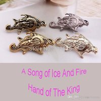 Wholesale Jewelry A Song of Ice and Fire Game Of Thrones Hand Of The King Of Ancient Brooch fashion brooch qqzq