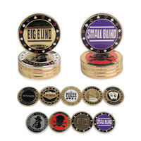 Wholesale 9pcs pack Quality metal Bargaining chip style metal size metal Poker chips Casino Gambling Game Party IVU