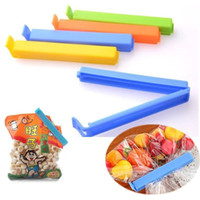 Wholesale 5Pcs Hot Sale Home Food Close Clip Seal Bags Storage Sealing Rods Sealer Clips For plastic bag