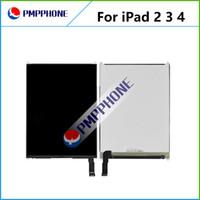 Para Ipad 2 3 4 Pantalla LCD de pantalla táctil digitalizador Asamblea lente de cristal completa envío rápido