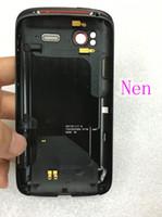 antenna case - Battery Back Cover For HTC Sensation XE Z715e Z710e G14 G18 Housing Door Case With Power Volume Buttons Antenna