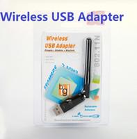 adapter osx - 2 G Wireless USB Wifi Adapter Antenna Desktop Wireless Network Adapters LAN Network Computer Software Driver for Vista WIN7 LINUX MAC OSX