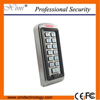 Wholesale Good quality Mhz IC MF mi fare metal IP68 waterproof high speed s identify standalone M05 W door access control door lock