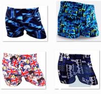 Wholesale 2016 AAA quality hot color size Fashion cool men boy summer beach surf spring swim trunks boxer man swim suit swimwear TOPB1796