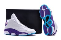 basketball jumps - 2016 Retro XIII s CP3 Basketball Shoes s Black Orion Blue Sunstone Athletics Sneakers Men Sports shoe Jump man logo Trainers