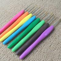 baby quilt fabric kits - Handle Aluminum Crochet Hooks Set Weave Yarn Craft Metal Knitting Needles E00042 CAD