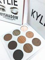 Wholesale In stock Kylie Eyeshadow Cosmetics Jenner Kyshadow pressed powder eye shadow Kit Palette Bronze Preorder Cosmetic Colors
