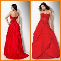 bea blue - Red Prom Dresses Sexy Fashion A Line Skirts Off the Shoulder Strapless Backless Tiered Ruched Satin Vestidos de Noiva Bea