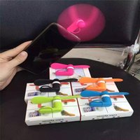 Wholesale Android Fan in Mini Micro USB Mobile Phone Cooling Fan Multi Function Xiaomi Portable Fan For Android Smart Phone Port Laptop Desktop