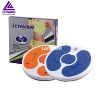 Others balance discs - Lenwave Sports Brand Twister Plate Color Balance Board Women Fitness Waist Twisting Disc Health Round Plates