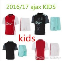 Wholesale Top Thai quality ajax kids soccer jerseys Ajax Children Club survetement maillot de foot Football shirts