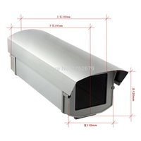 Wholesale Outdoor CCTV Security waterproof white color metal housing for cctv cameras